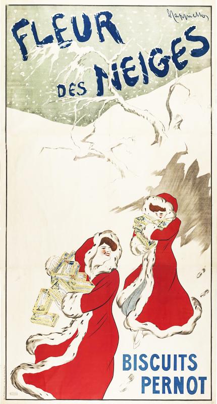 Fleur des Neiges / Biscuits Pernot (grand format)