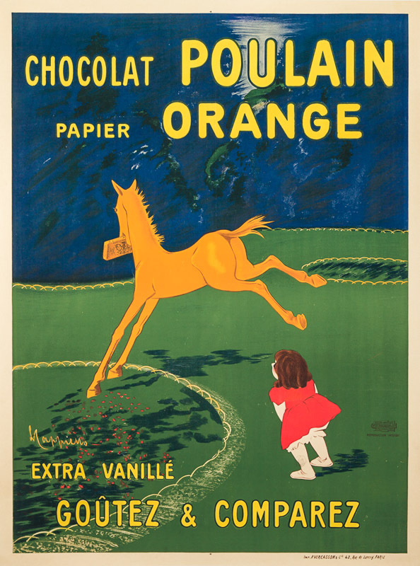 Chocolat Poulain Orange