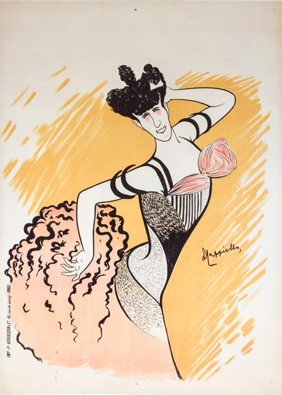 Une Revue aux Folies-Bergère - Louise Balthy
