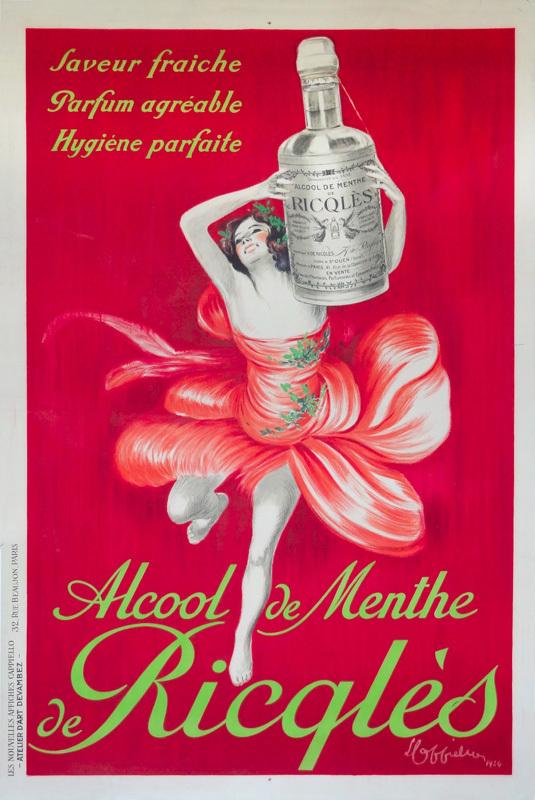 Alcool de Menthe de Ricqlès