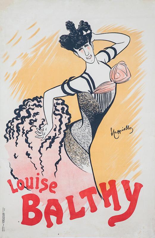 Folies-Bergère / Louise Balthy (Varainte)