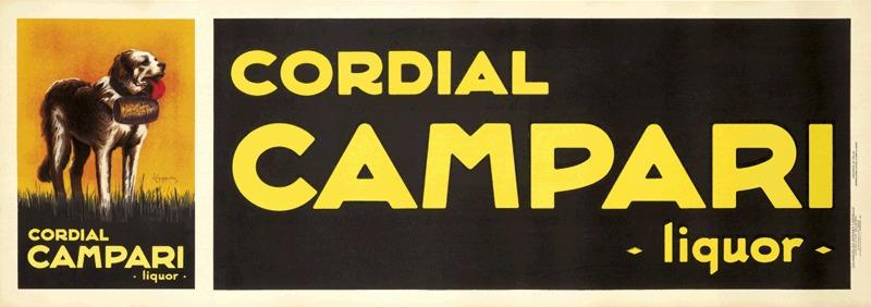 Cordial Campari - Liquor (format horizontal)