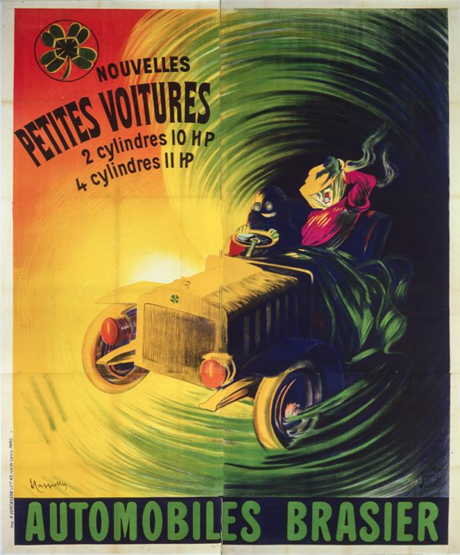 Automobiles Brasier (Grand format)