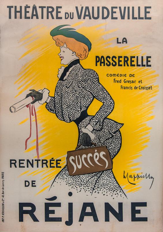 Théâtre du Vaudeville / Réjane