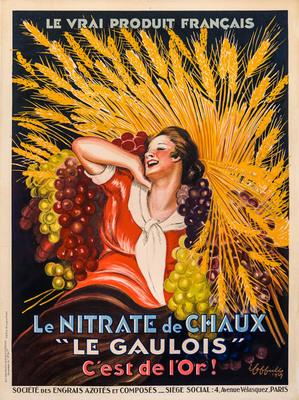 """Nitrate de Chaux """"Le Gaulois"""""""