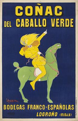 Coñac del Caballo Verde