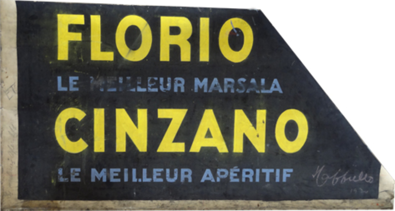 Lettres amovibles Florio Cinzano