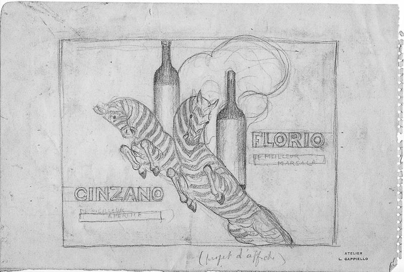 """E tude pour """"Brio"""" (Florio et Cinzano)"""