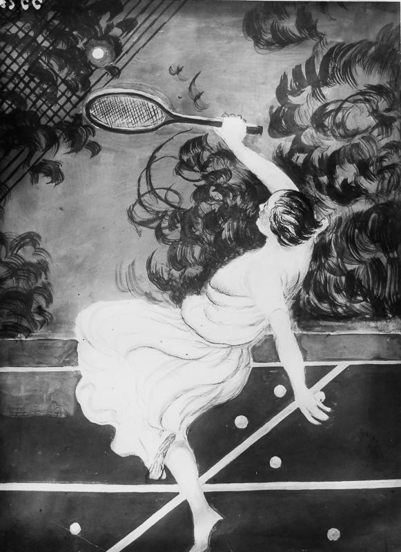 Balle de tennis (Variante)