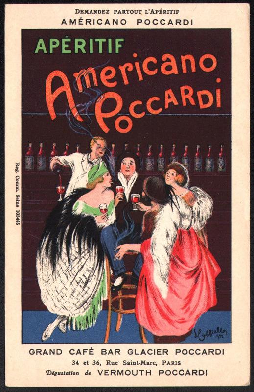Poccardi / Apéritif Americano