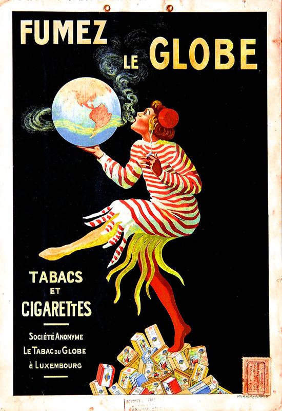 Fumez le Globe (Carton à suspendre)