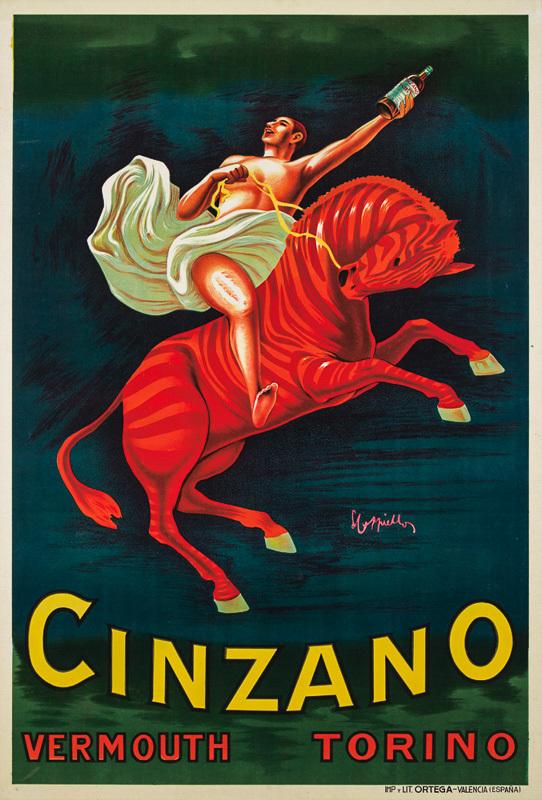 Cinzano (imprimé en Espagne)