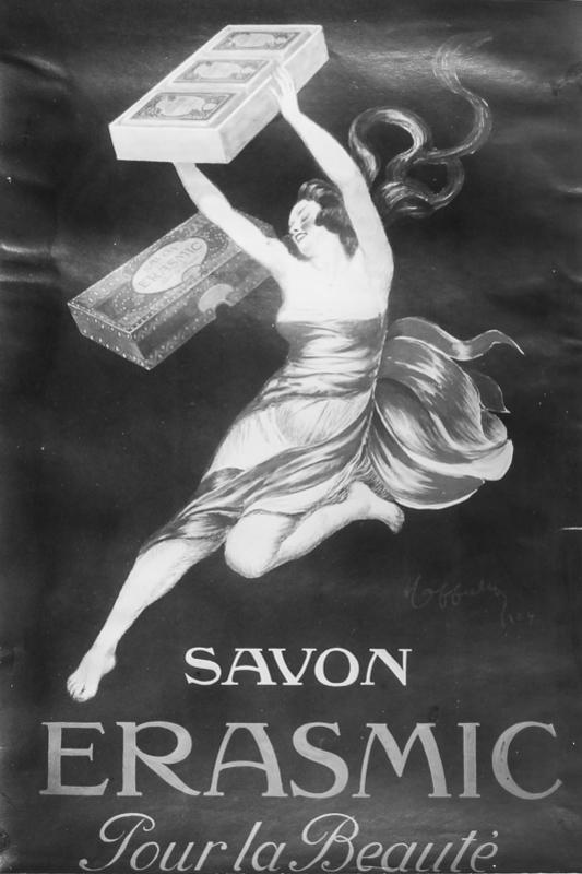 Maquette pour Savon Erasmic