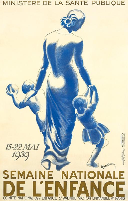 Semaine Nationale de l'Enfance (Grand format)