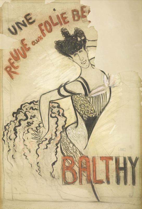 Revue aux Folies-Bergère / Louise Balthy