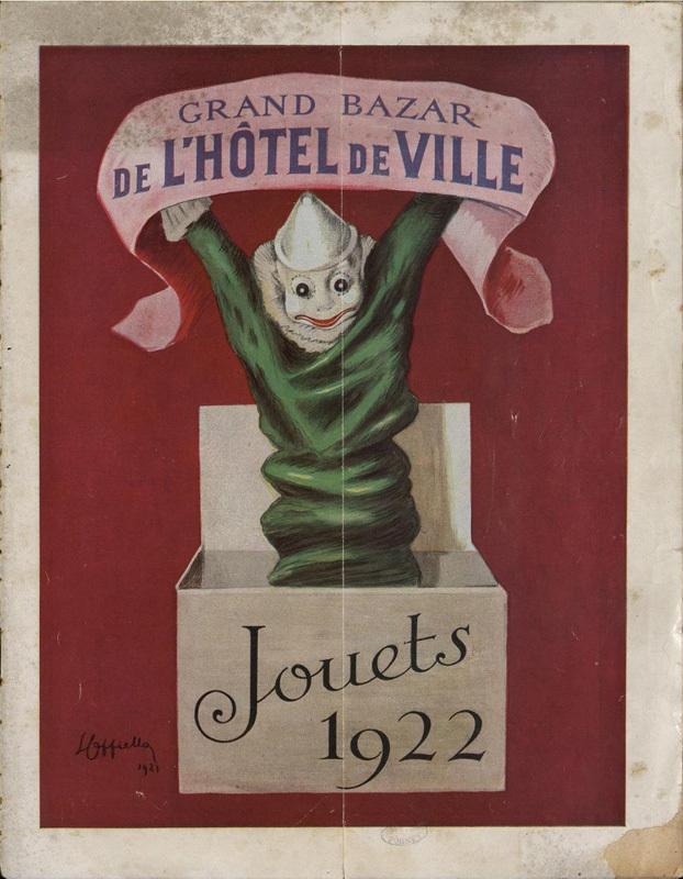 Grand Bazard de l'Hôtel de Ville / Jouets 1922