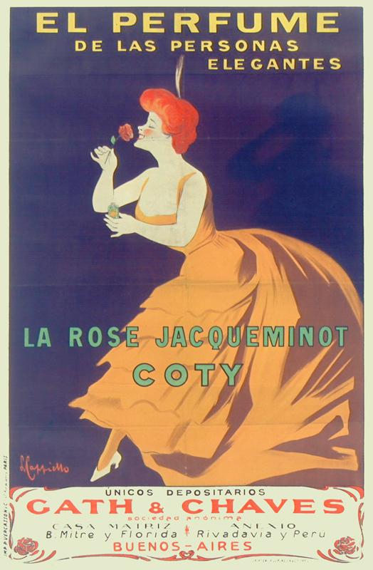 La Rose Jaqueminot / Coty