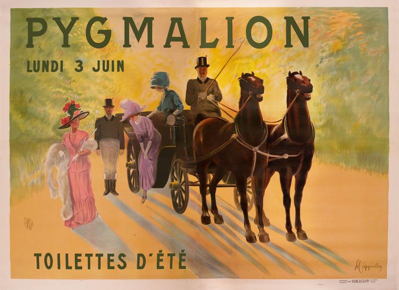 Pygmalion / Toilettes d'été
