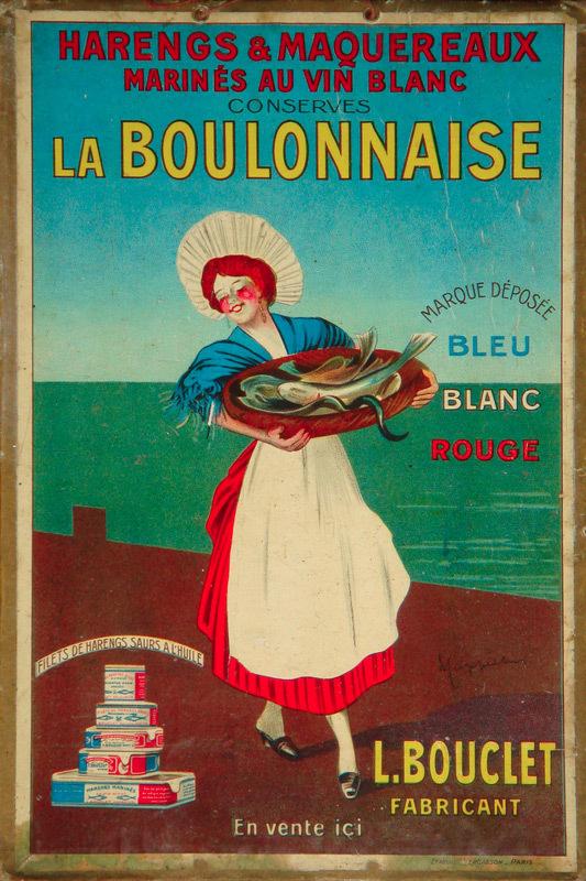 La Boulonnaise (Cartonnette à suspendre)