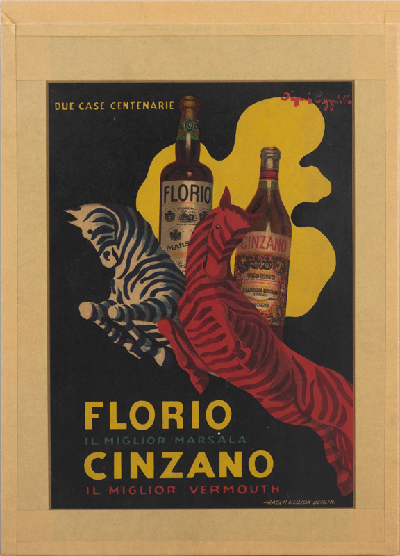 Florio et Cinzano (Très petit format)