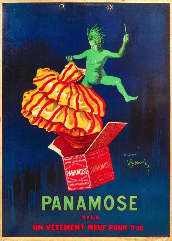 Panamose (carton publicitaire à suspendre)