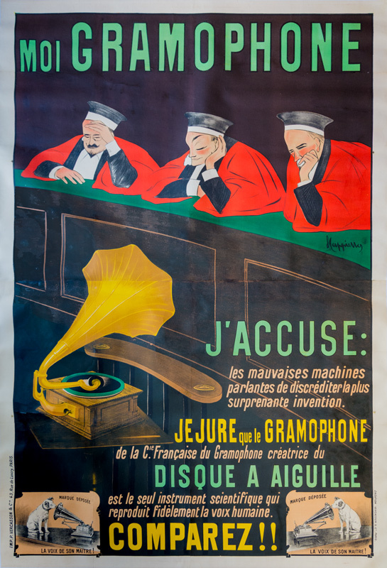 Moi Gramophone / J'accuse