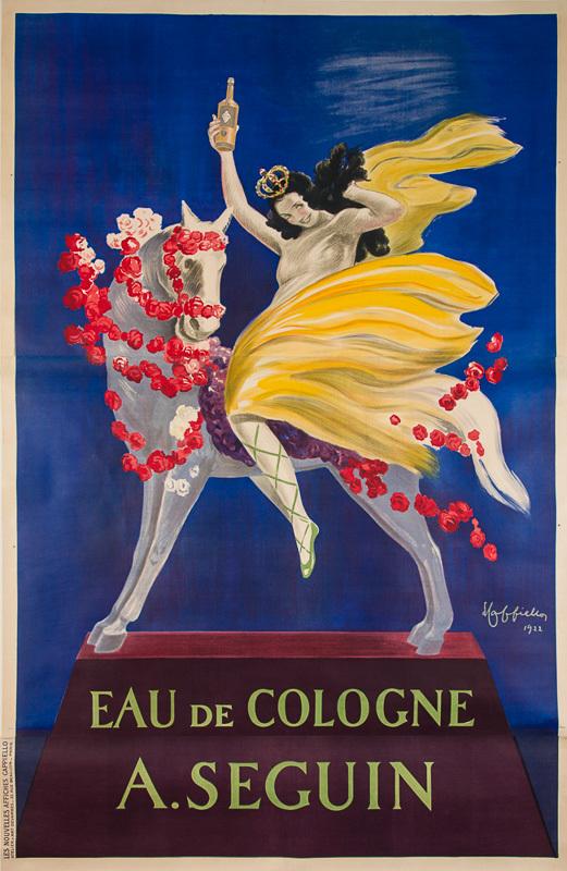 Eau de Cologne A. Seguin (Grand format)