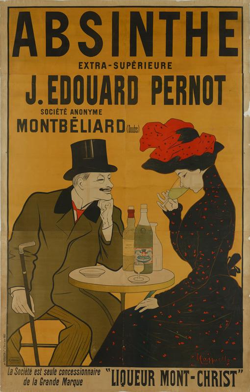 Absinthe J. Edouard Pernot (Grand format)