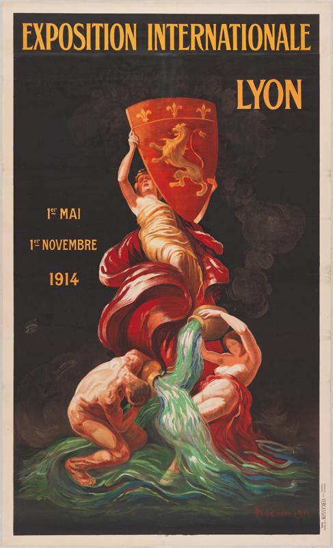 Exposition Internationale / Lyon / 1er mai 1er novembre 1914