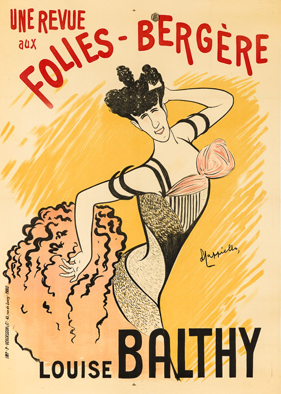 Louise Balthy aux Folies-Bergère