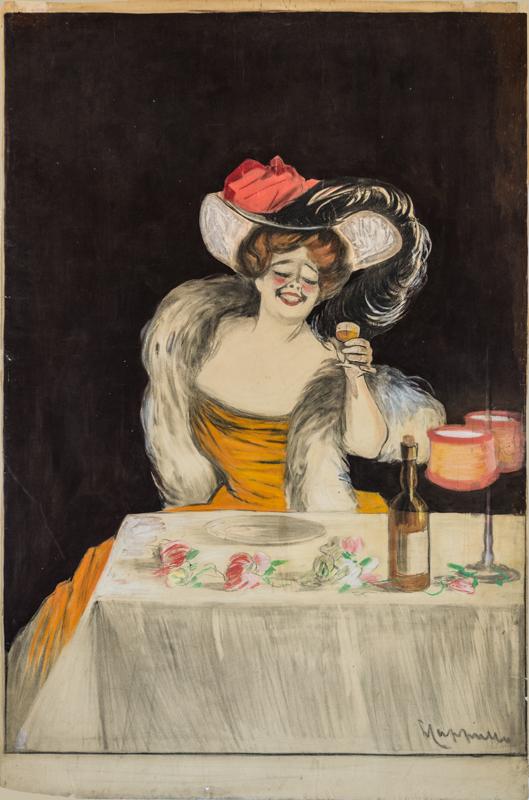 Femme au verre