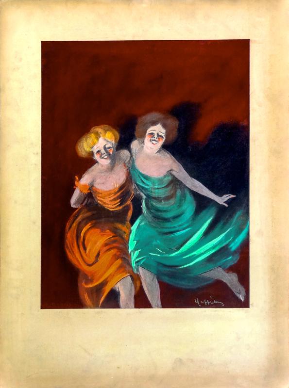 Deux femmes (esquisse)