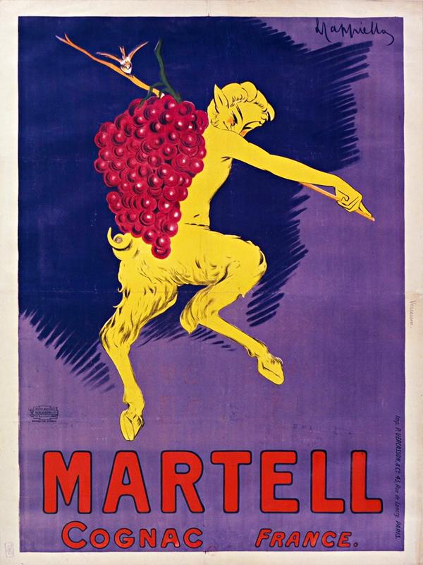 Cognac Martell (Signature en haut)