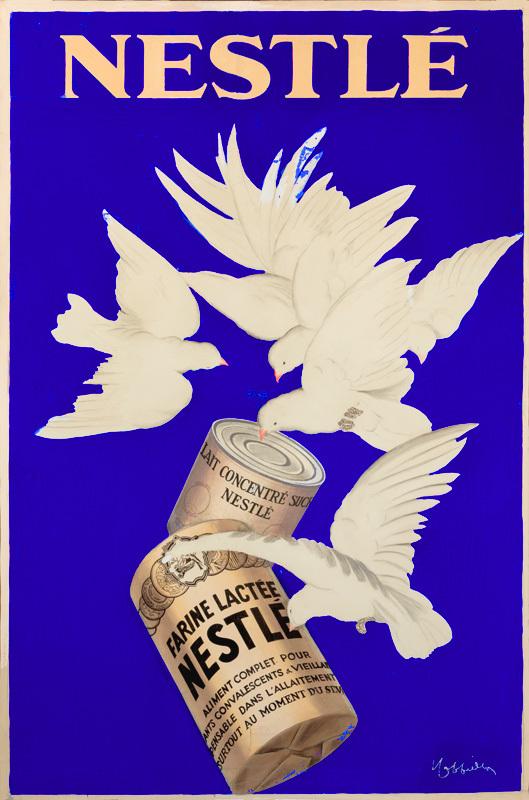 Produits lactés Nestlé