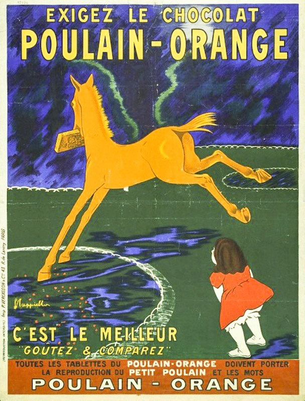 Chocolat Poulain-Orange