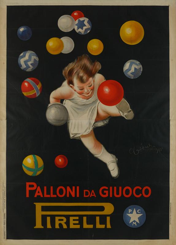 Palloni da giuoco Pirelli