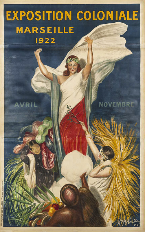 Exposition Coloniale / Marseille 1922 (Grand format)