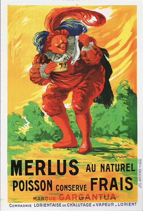 Gargantua / Merlus au naturel