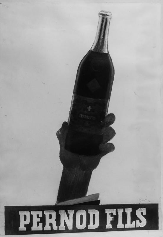 Esquisse pour Pernod Fils