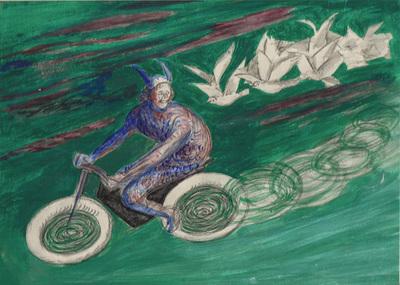 Motocyclette Dunlop
