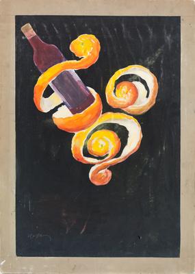 Apéritif à l'orange