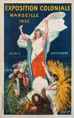 Exposition Coloniale<br /> Marseille 1922