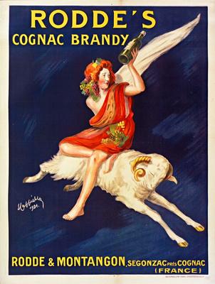 Rodde's Cognac Brandy